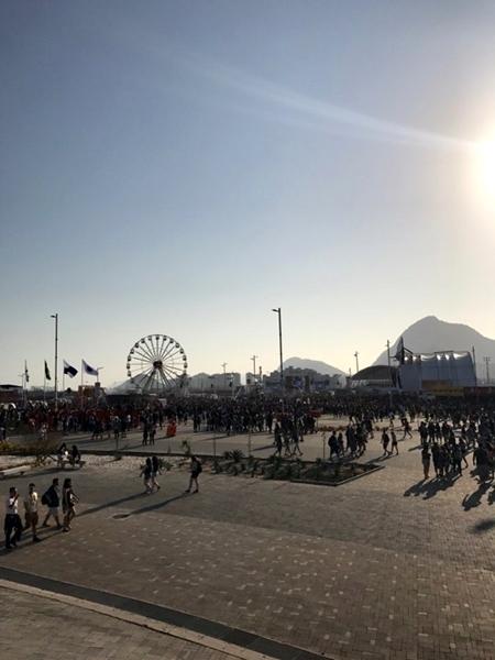 último fim de semana do Rock in Rio