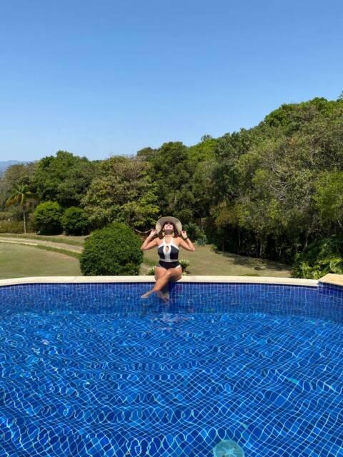 piscina de borda infinita