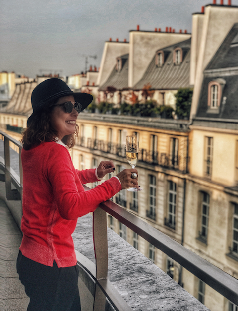 Renata Araujo Mandarin Paris