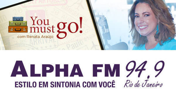 YouMustGo na Rádio AlphaFM 94.9