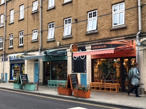 bairro mais descolado de Londres