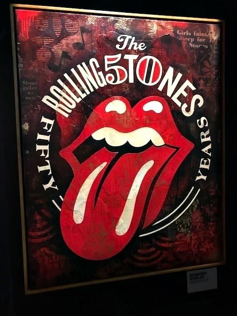 exposição dos Rolling Stones