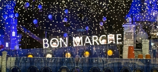 Paris decorada para o Natal