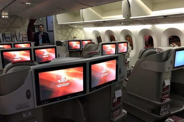 A classe executiva da Royal Air Maroc no Dreamliner 787 | You Must Go!