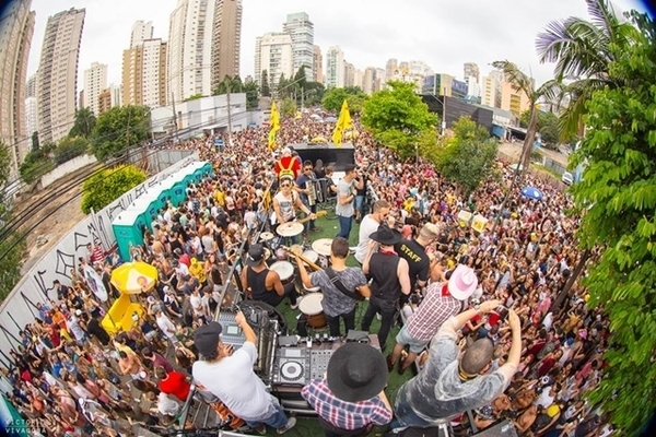 Blocos de Carnaval em São Paulo