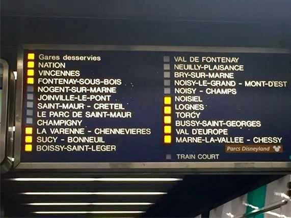 como chegar à disneyland Paris