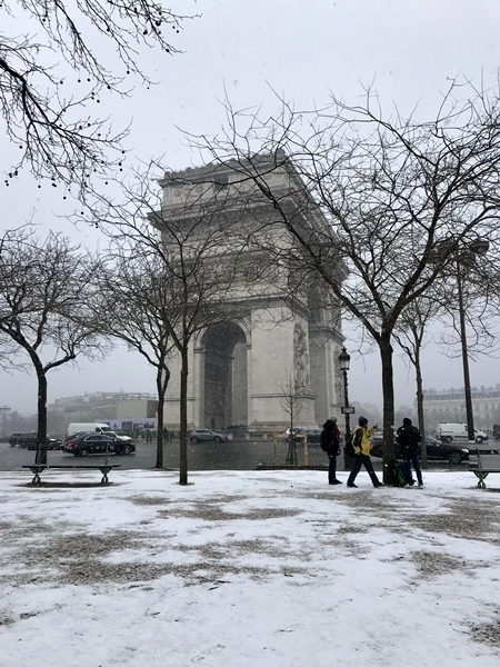 nevasca na Europa