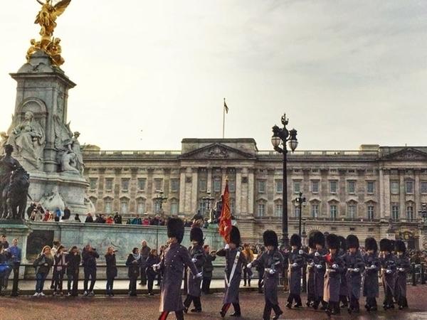 três dias em Londres
