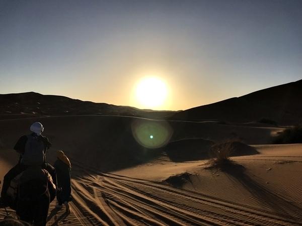 uma noite no Deserto do Saara