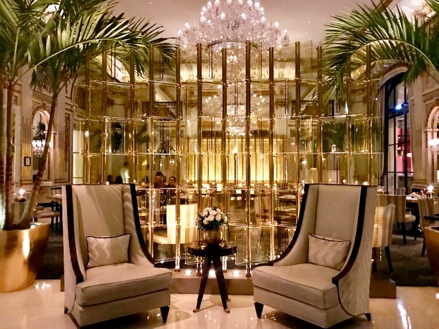 The Lobby, restaurante Peninsula Paris