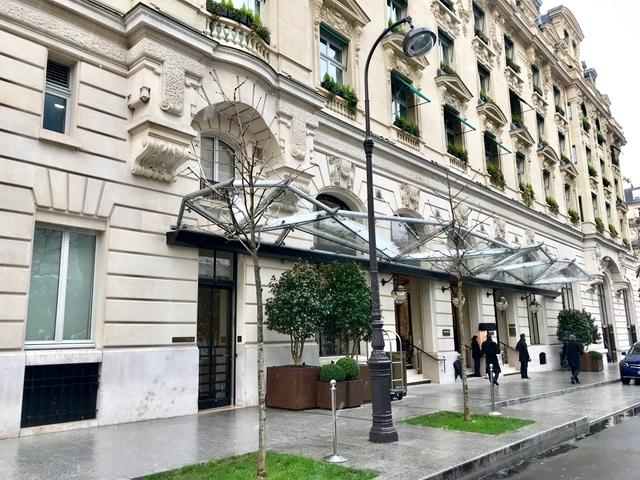 Hotel Cinco Estrelas Perto do Arco do Triunfo