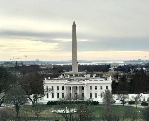Vista linda do terraço
