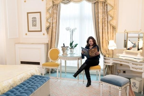 melhor hospedagem em Londres - quarto do Ritz London