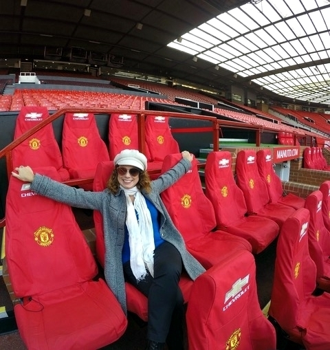 Visita ao Estádio do Manchester United