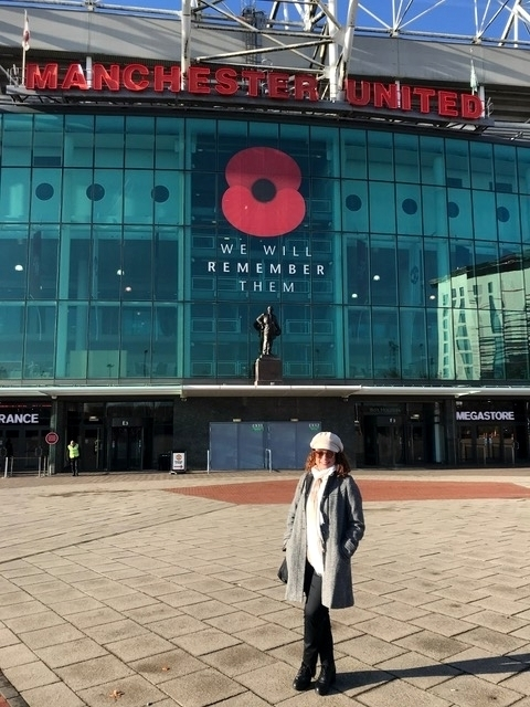 visita ao estádio do manchester united 2