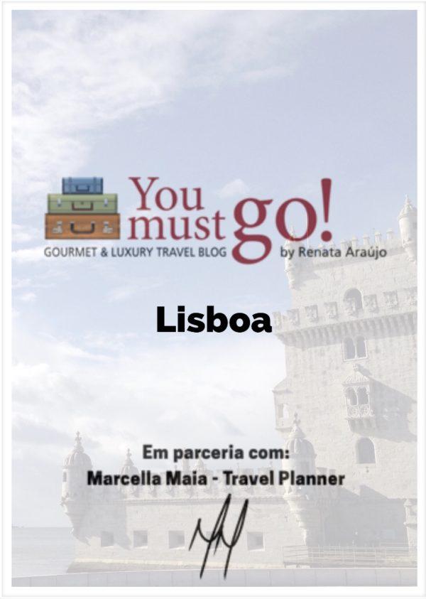 Guia de Viagem para Lisboa YouMustGo! e Marcella Maia