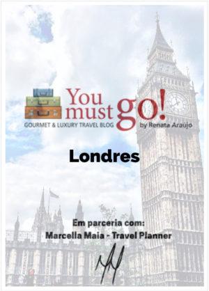 Guia de Viagem para Londres YouMustGo! e Marcella Maia