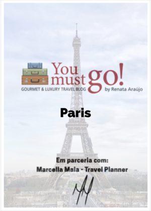 Guia de Viagem para Paris YouMustGo! e Marcella Maia