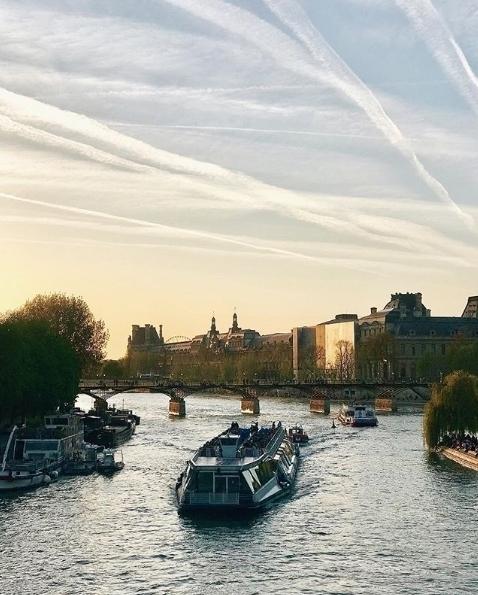 Quarentena na Europa - Paris