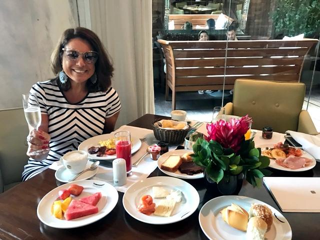Spa e Café da manhã do Fasano
