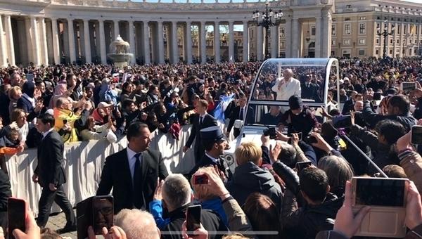 Como conseguir uma audiência com o Papa