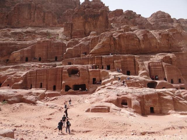 Petra é um importante território arqueológico na Jordânia