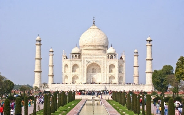 Taj Mahal é uma das novas maravilhas do mundo