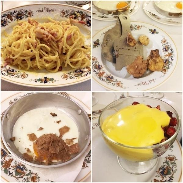 restaurantes tradicionais em roma