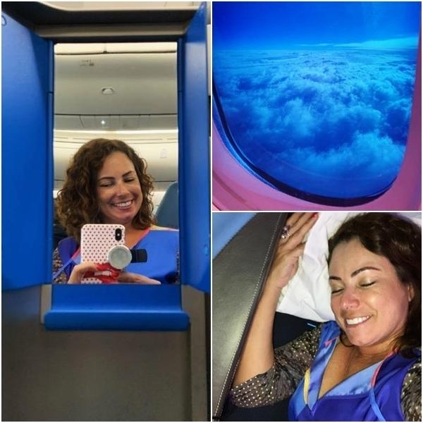 Dreamliner da KLM no voo Rio-Amsterdã 10