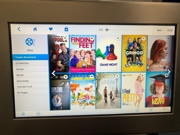 Dreamliner da KLM no voo Rio-Amsterdã 3