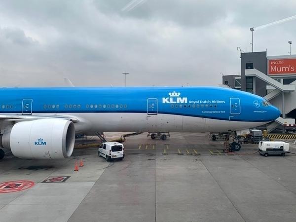 Dreamliner da KLM no voo Rio-Amsterdã 7