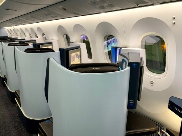 Dreamliner da KLM no voo Rio-Amsterdã 8