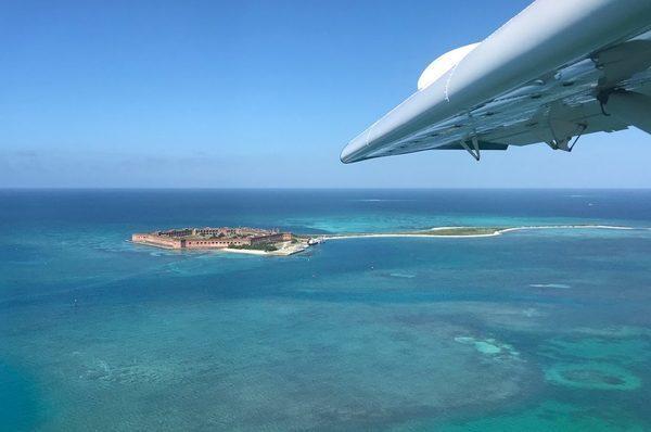 voar de hidroavião em Key West