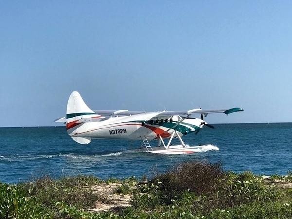 voar de hidroavião em Key West 5