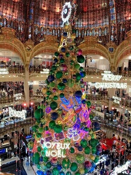 decoração de natal em paris