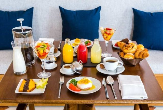 café da manhã no Rio de Janeiro
