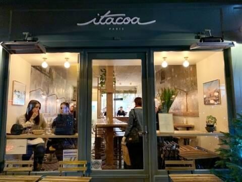 Fachada do restaurante itacoa Rio em Paris