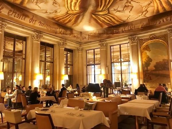 restaurantes do hotel le meurice