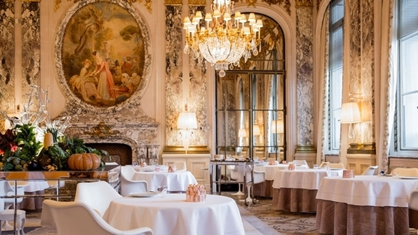 restaurantes do hotel le meurice