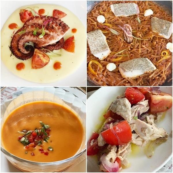 restaurantes espanhóis no Ri
