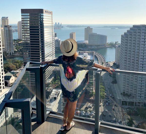 vistas de quartos de hotéis pelo mundo - EAST Miami