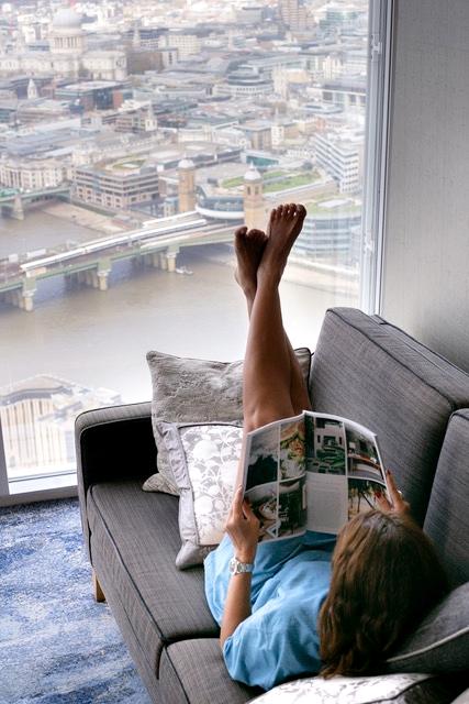 hotel no prédio mais alto da Inglaterra 1