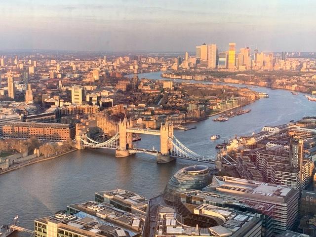 hotel no prédio mais alto da Inglaterra 2
