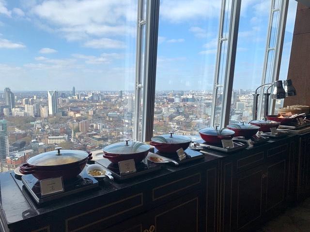 hotel no prédio mais alto da Inglaterra