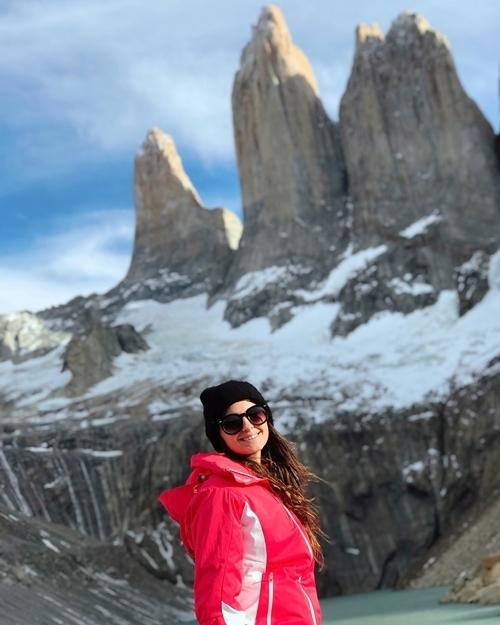 Como é a trilha para a base das Torres del Paine