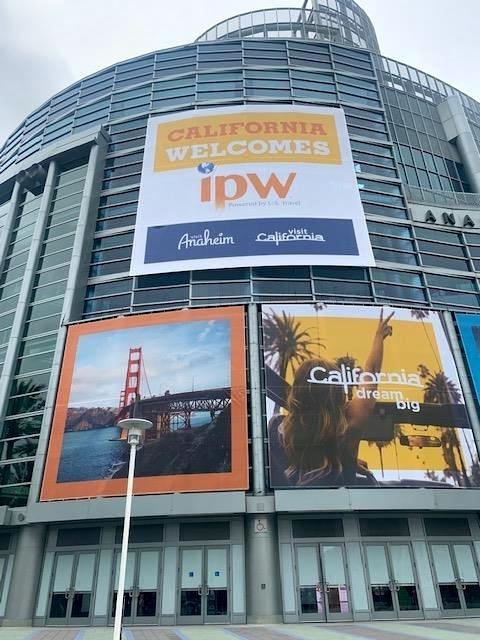 feira de turismo na califórnia
