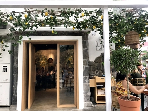 Posì, novo restaurante italiano em Ipanema