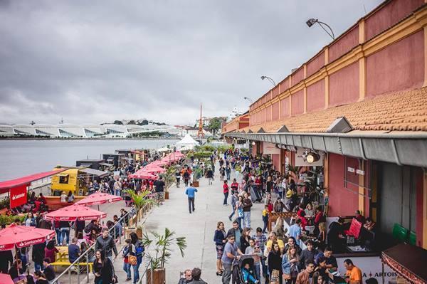Rio Gastronomia 2019 no Píer Mauá