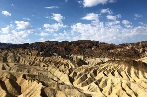 Vale da Morte na Califórnia, USA