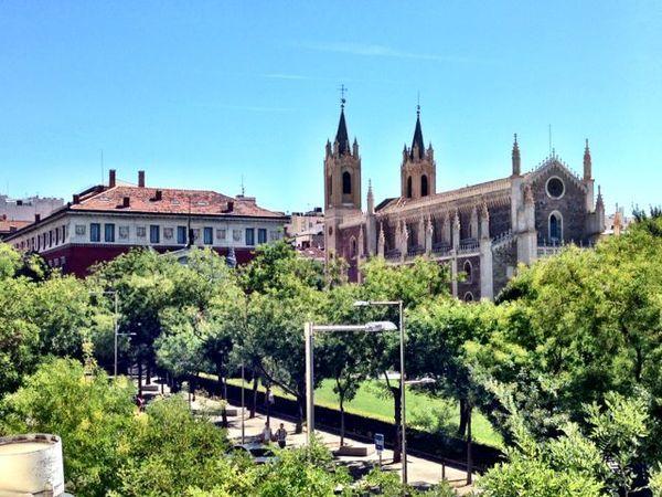 Vista do Ritz em Madri